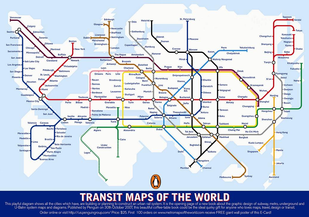 Top 10: Public Transit Systems