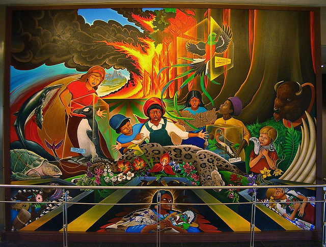 Denver Airport Mural Displays Cryptic, Luciferian Images