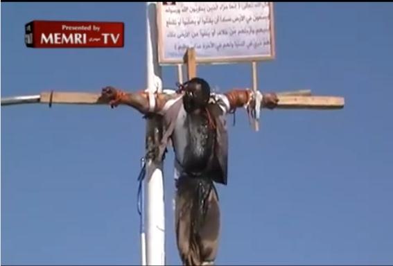 SaudiCrucifying