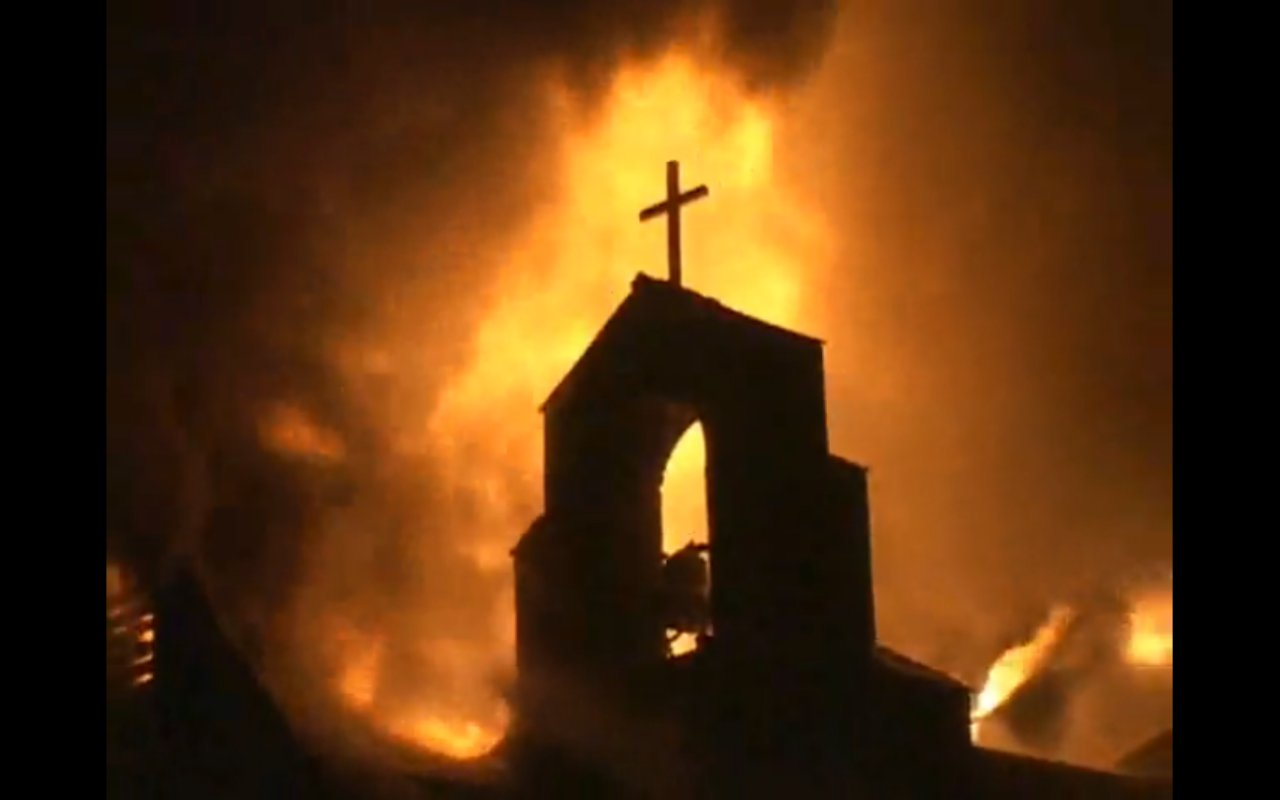Egypt-church-burning